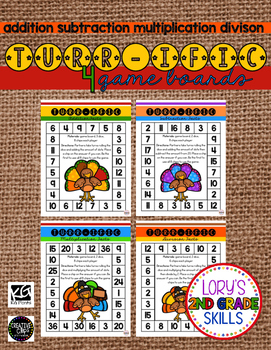 Game Board Math - Turr-ific Math