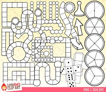 Game Board Templates Clip Art