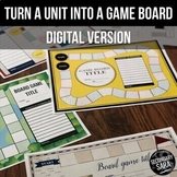 Game Board Templates - Distance Learning (Google Drive) An