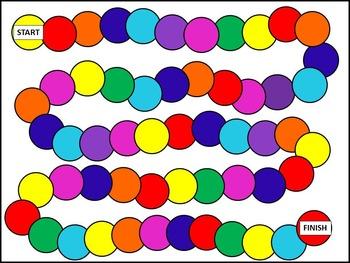 Game Board Clip Art/Template - JPEG
