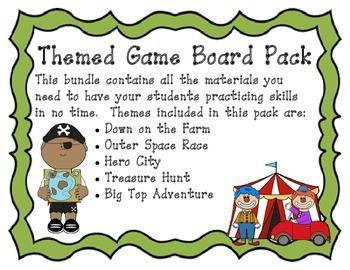 Game Board Theme Pack