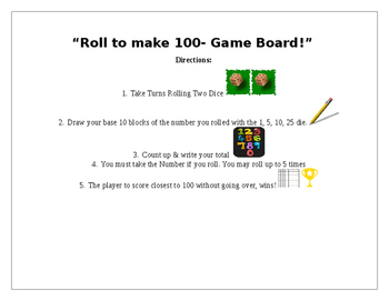 Up-to 100 Game (w/Ability to Customize)!
