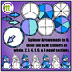 Game Boards Clip Art Winter Edition Add-on Set