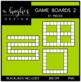 Game Boards Clipart Set 2 {A Hughes Design}