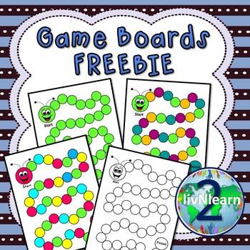 Game Boards FREEBIE! (SET 1)