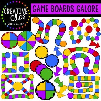 Game Board Clipart {Creative Clips Clipart}