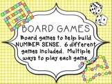 Board Games - Number ID & Number Sense