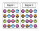 Partner Games: Game Boards for Task Card or Flashcard Time