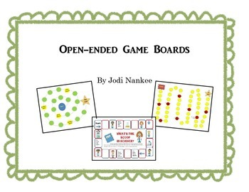 Game Boards for Classroom Review
