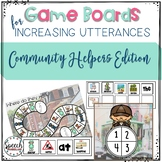 Game Boards for Increasing Utterances- Community Helpers
