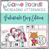 Game Boards for Increasing Utterances Valentine's Day