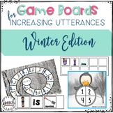 Game Boards for Increasing Utterances Winter Edition