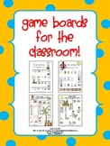 Game Boards for the Classroom Pack