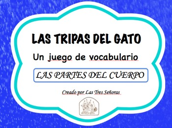 Spanish Game Body Parts/Las partes del cuerpo: Las tripas del gato