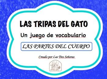 Spanish Game Body Parts/Las partes del cuerpo: Las tripas