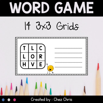 Game: Boggle Party ! {1} - Find as many words as possible