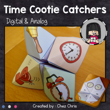 Time Cootie Catchers Fortune Teller - Playing with Time !