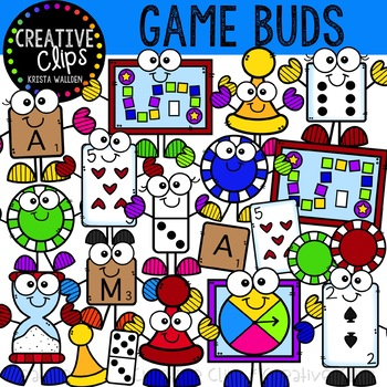 Game Buds: Game Clipart {Creative Clips Clipart}