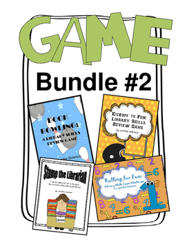 Game Bundle 2: Four Library Skills Games