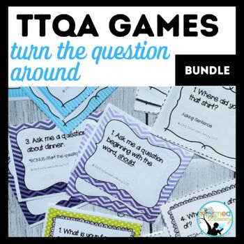 Game Bundle-Identifying, Generating and Answering Questions
