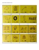 Game Cards for Basic Long Vowels A, I, O, U