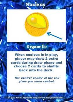 Game: Cell organelles & processes game
