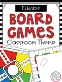 Game Classroom Theme Decor and Organization EDITABLE Kit