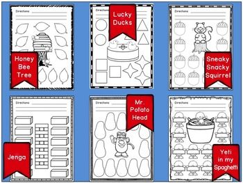 Game Companion Printables Pack: Print and Go, No-Prep Sheets for Popular Games
