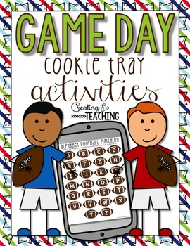 Game Day Cookie Tray Activities