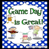 Game Day Fun! End of School Theme Days