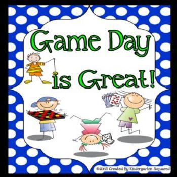 Game Day Fun! End of School Theme Days