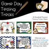 Game Day Baseball Testing Treats