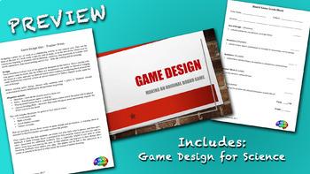 Game Design - Science Bundle