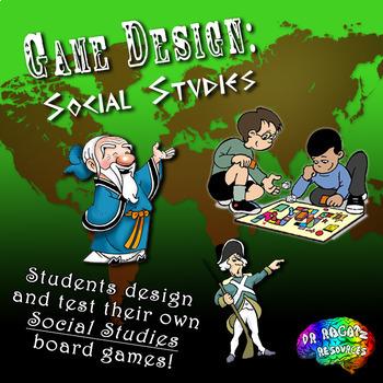 Game Design - Social Studies Bundle