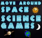 Game: Earth and space science move around games