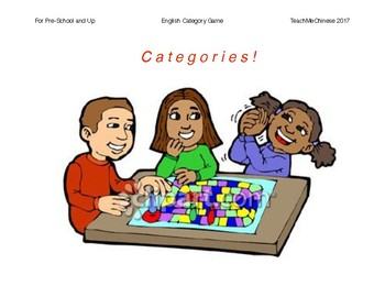 Game- English Category Game