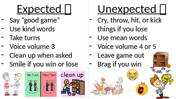 Game Expectations