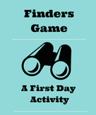 Game For First Days of School - Back To School Icebreaker