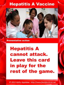 Game: Germ Warfare foodborne illness card game