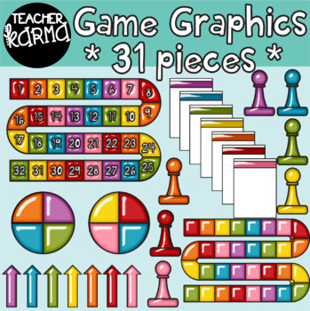 Game Graphics - Bright & Shiny  * Make A Game Seller's Kit