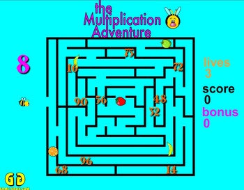 Game-Grok presents: The Multiplication Adventure. (Macintosh)