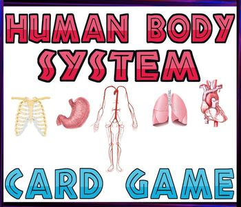 Game: Human organ systems cards