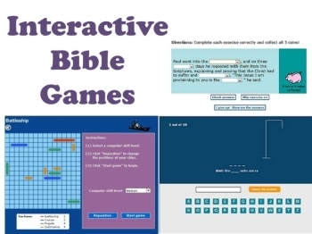 Game: Interactive Bible games