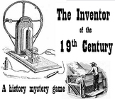 Project based learning: Inventor of the 19th Century (history mystery package)