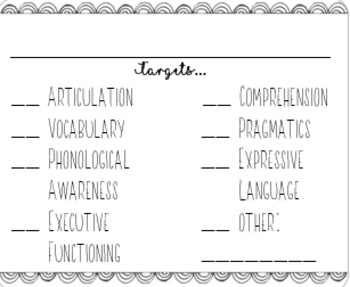 Game Labels for the SLP