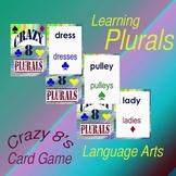 Game - Language Card Game Crazy Eight Plurals
