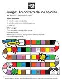 Game:  Los Colores