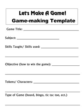 Game Making Kit for All Levels
