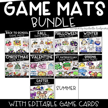 Game Mats Growing Bundle [EDITABLE]