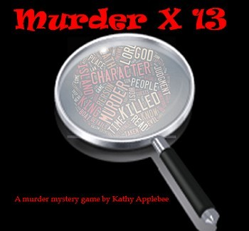 Game: Murder Times Thirteen murder mystery